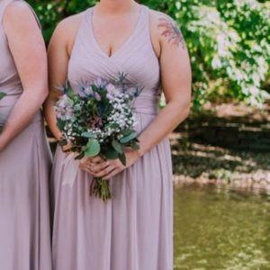 Quartz bridesmaid dress size 14, fits like 12